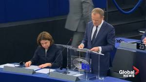 Donald Tusk says 'dream' of British U-Turn on Brexit is 'not dead' yet