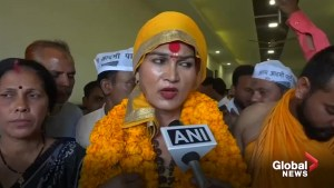 India's transgender community jumps into the fray for national elections