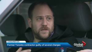 Former Toronto contractor guilty of several charges (02:39)