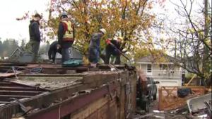 Vancouver company salvages building waste to make new homes