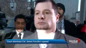 Court dismisses Toronto cop's appeal in Sammy Yatim case