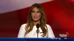 Melania Trump speech similar to Michelle Obama's 2008 address