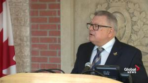 Goodale provides update on flood relief, evacuations in Ontario