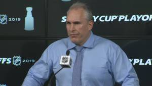 RAW: St. Louis Blues Craig Berube Post Game Reaction – Apr. 10 (02:59)