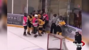 West Kelowna beer league hockey brawl video goes viral