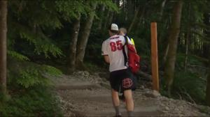 Grouse Grind in gowns for a good cause