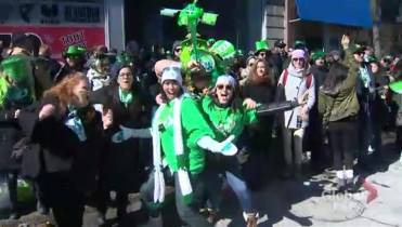 Prime Minister Justin Trudeau attends Montreal s iconic St. Patrick s Day  parade 6f434c3b1