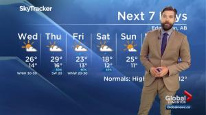 Global Edmonton weather forecast: July 10