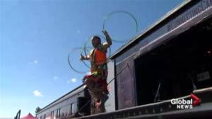 Canada 150 train rolls out of Calgary on cross-country musical tour