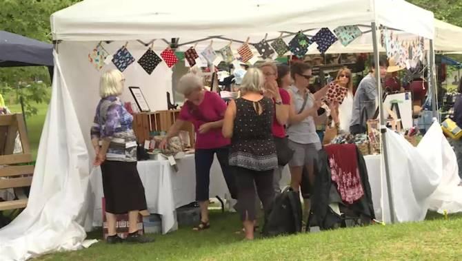 Non-profit Kingston Women's Art Festival holds 38th annual event