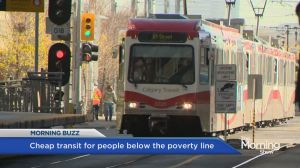 Calgary giving super cheap transit to low income earners