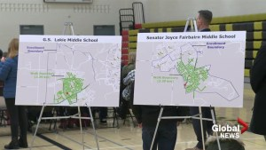 Parents and students attend open house for Joyce Fairbairn Middle School
