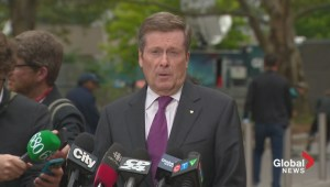 John Tory says Toronto stands with Rob Ford in his fight against cancer