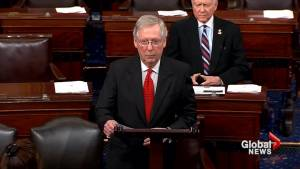 McConnell says Senate is willing to work with White House on Puerto Rico aid package