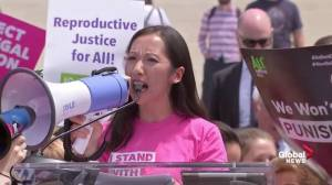 'Vote him out': Planned Parenthood targets Trump, Kavanaugh at abortion rights protest