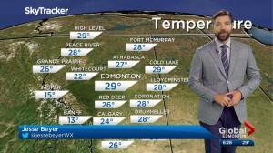 Global Edmonton Weather Forecast: June 21