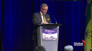 Brad Wall promotes Energy East in Saint John
