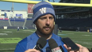 RAW: Blue Bombers Matt Nichols Interview – Sept. 25