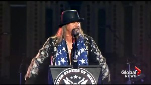 Kid Rock discusses Senate bid, says he's considering a Presidential run