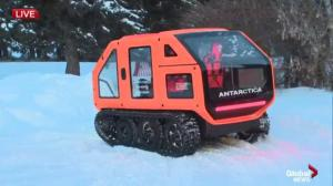 World's first electric snowcat for antarctic missions shown off in Edmonton