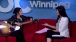Emm Gryner performs on Global News Morning