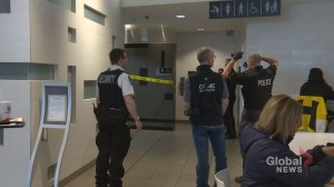 Calgary police investigation continues after man's body found in wall at Core Shopping Centre