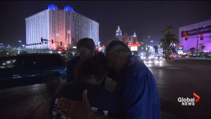 Las Vegas shooting survivors meet their heroes 1 year after deadly shooting