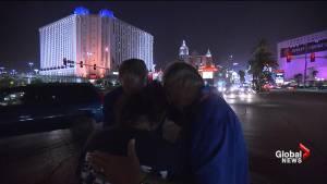 Las Vegas shooting survivors meet their heroes 1 year after deadly shooting