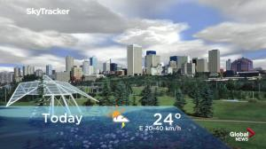 Edmonton early morning weather forecast: Friday, July 20, 2018