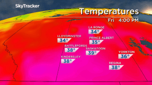 Saskatoon weather outlook: sizzling 30 degree heat comes with smoke