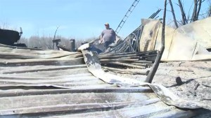 Wildfires in southeastern Manitoba have had a devastating effect