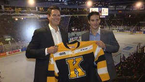 The Kingston Frontenacs hire Kurtis Foster and Luca Caputi