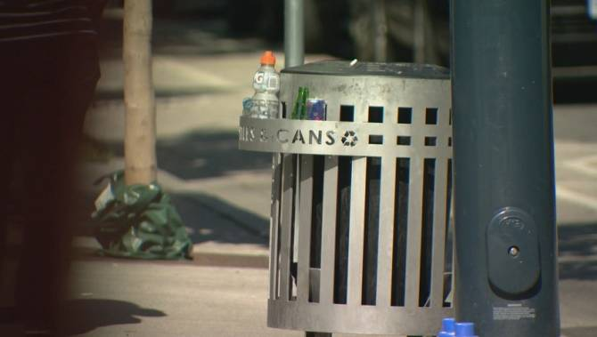 Vanishing in Vancouver: Where have all the garbage cans gone?