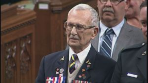 Oshawa WWII veteran volunteers at Ontario Regiment Museum