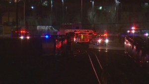 Port Coquitlam trainyard fire ignites after tanker truck crashes into rail car