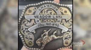 Calgary woman 'devastated' by theft of her father's rodeo belt buckle