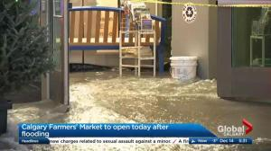 Calgary Farmers' Market set to reopen after flood