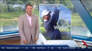 PGA stars talk about Tiger Woods' legendary shot at the Canadian Open
