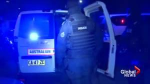 Police arrest 17 in Australia, Dubai, Netherlands drug raids