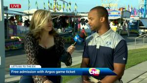 Get into the CNE for free with an Argos ticket