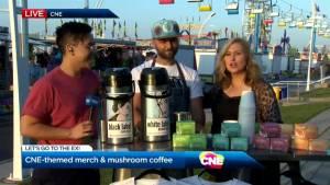 Mushroom coffee at the CNE