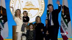 California Governor-Elect Newsom rips Trump in inauguration speech