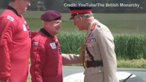 89-Year-Old D-Day Veteran Performs Parachute Jump