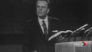 A look back on evangelist Billy Graham's impact on Toronto