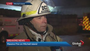 Mitchell Island Fire deputy chief interview