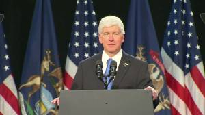 'I'm sorry and I will fix this': Governor of Michigan booed during speech to Flint residents