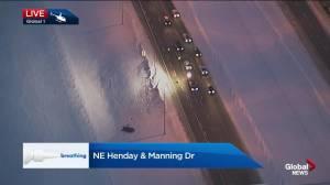 Edmonton police investigate fatal collision