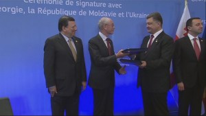 Ukraine and EU sign historic pact