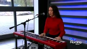 Faouzia performs The Mountain on The Morning Show