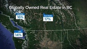Report pinpoints foreign property ownership in B.C.